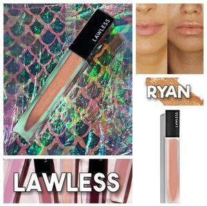 NWOB - LAWLESS Soft Matte Liquid Lipstick - RYAN